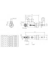 Brembo Racing Master Cylinder XA2L2F6